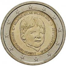 2 Euro Münze Child Focus