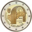 2 Euro Republik Slowakei