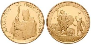 20 Euro Goldmünze David & Goliath