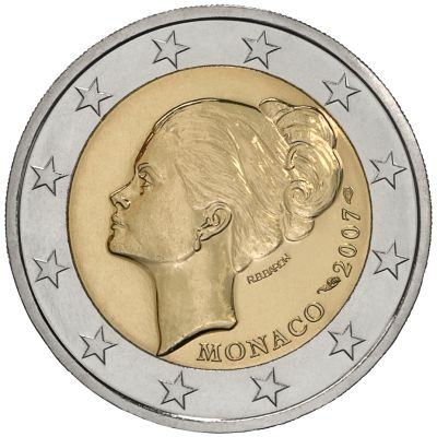 2 Euro Grace Kelly